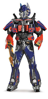 Optimus Prime Theatrical Adult Costume Mens Transformers Movie Halloween Robot](Transformer Costume Adult)