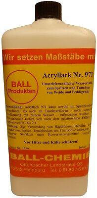Korblack Acryllack Wasserlack 1kg Weide Peddigrohr Spritzen & Tauchen