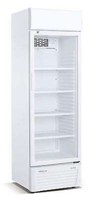 Getränkekühlschrank mit Glastür 336 Liter Flaschenkühlschrank Gastro