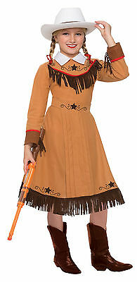 Girls Western Texas Rosie Costume Cowgirl Rodeo Country Child Size Medium 8-10