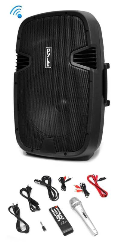 Pyle Pro PPHP152BMU 1000W Portable Bluetooth PA Speaker System with Microphone