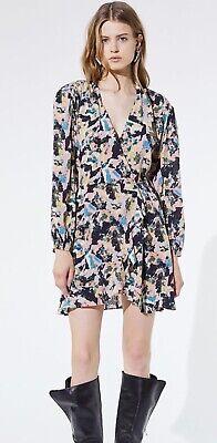 IRO Paris Bloomy multi coloured dress euro 36 UK 8 RRP £353