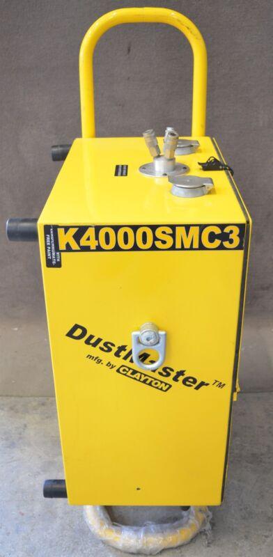 Clayton Dustmaster Pneumatic DM-204 Air Powered HEPA Vacuum Sanding System CTK 3