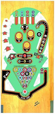 BALLY EIGHT BALL Pinball Machine Playfield Overlay