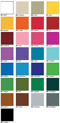 Efcolor Farbschmelzpulver Emaillieren Set OPAK 29 Farben siehe Bild
