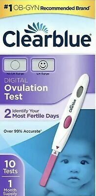 Clearblue Digital Ovulation Test 10 Ovulation Tests