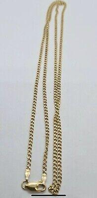 Italian 14ct gold chain 22 Inch
