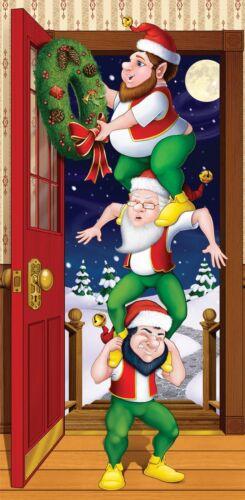 Christmas Elves Door Cover