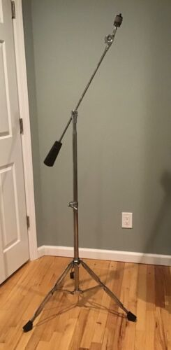 VINTAGE 1970's EARLY TAMA TITAN BOOM CYMBAL STAND COUNTERWEIGHT DBLE BRACED