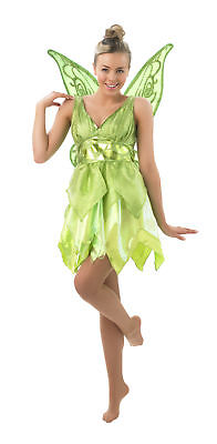 Rub - Disney Damen Kostüm Fee Tinkerbell als - Tinkerbell Kostüm Erwachsene