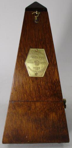 Vintage Seth Thomas Wood Metronome De Maelzel