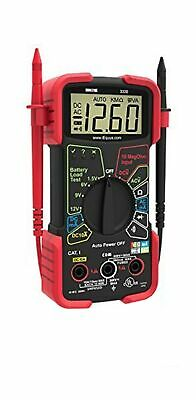 Innova 3320 Auto Ranging Digital Multimeter Automotive House Electrical Problems