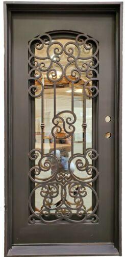 Ticonderga Single Iron Door-SS102