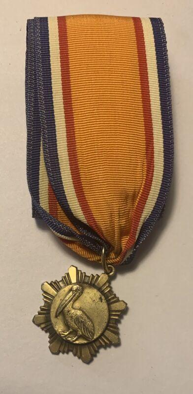 Boy Scout BSA Roman Catholic Bronze Pelican Adult Religious Award Medal (3-