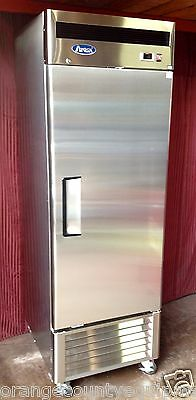 New 1 Door Reach In Freezer Atosa Mbf8501 1821 Commercial Stainless Steel Nsf
