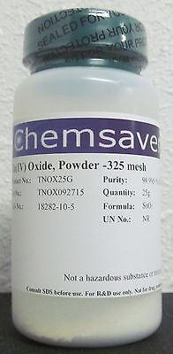 Tiniv Oxide Powder -325 Mesh 99.995 Metals Basis Certified 25g