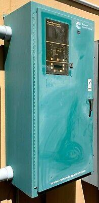 27.5 Wide Green Cummins Powercommand Transfer Switch Mod Otpcc-5479216 400 Amps