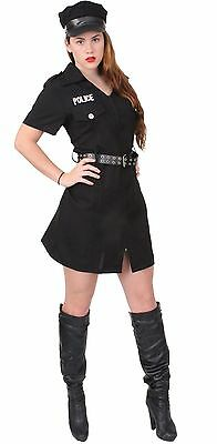 Womens Police Costume - Girls Officer Outfit - Halloween, Dress Up, Sexy Police](Police Woman Halloween Outfits)