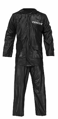NEW THOR BLACK RAIN SUIT RACING SPECTATOR FOOTBALL BASEBALL FREE SHIP  (Thor Suits)