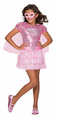 ~NEW~SUPER GIRL PINK TUTU SUPER HERO CHILD COSTUME ](Super Girl Costume)