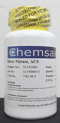 Silver Nitrate Acs 99.9 100g