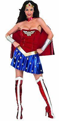 Geheim Wünsche Rubies Wonder Woman Comics Erwachsene Damen Halloween Kostüm