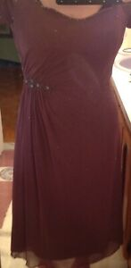 Embroidered Evening Dress (size 14)