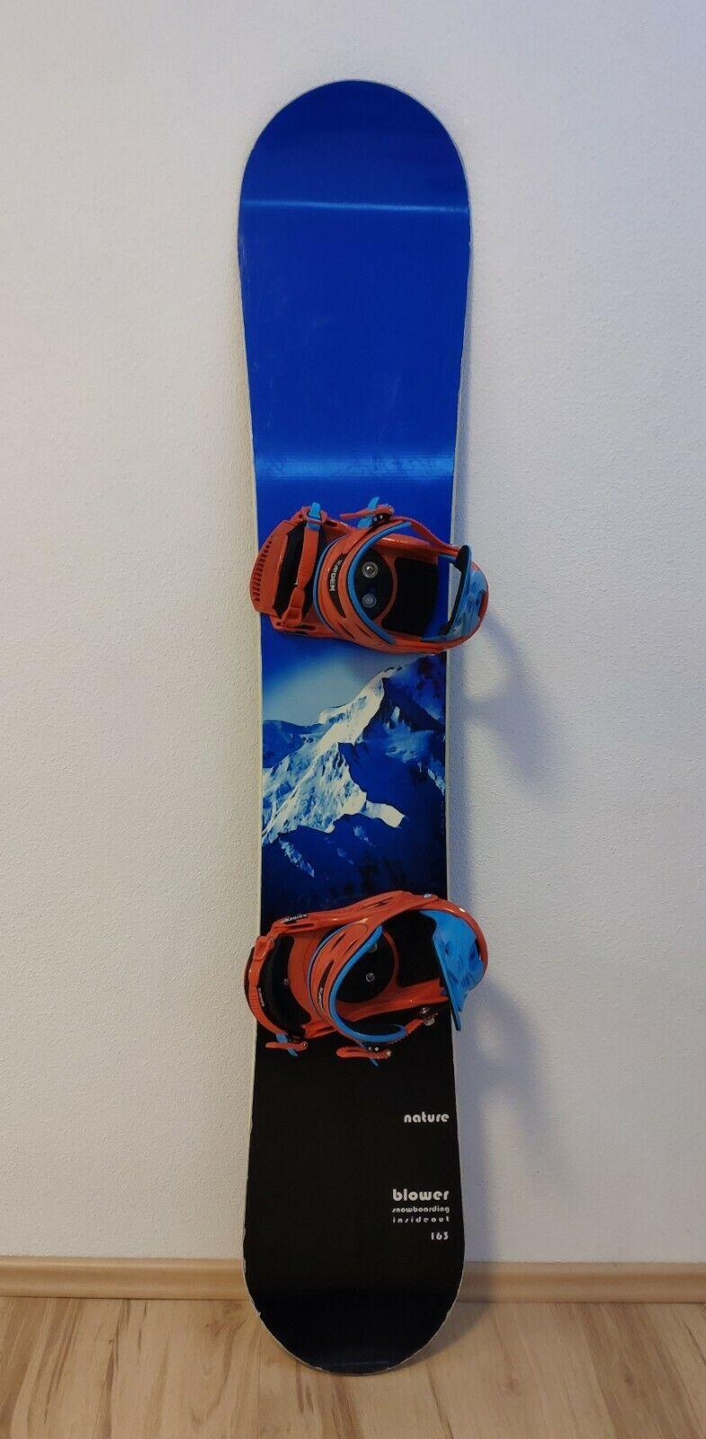 Snowboard 163 cm mit Raven Bindungen
