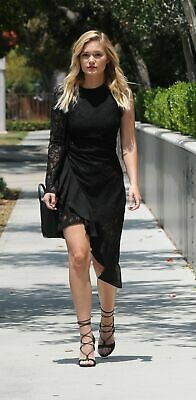 Olivia Holt With Black Dress 8x10 Picture Celebrity (Olivia Holt Dresses)