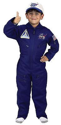 Nasa Flieger-Anzug Kinder Kostüm Luftfahrt Piloten Businesskleid Jungen Aeromax