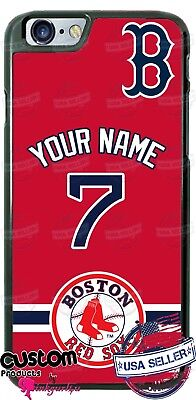CUSTOMIZE BOSTON RED SOX PHONE CASE COVER FITS IPHONE SAMSUNG LG etc  Boston Red Sox Case