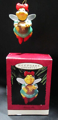 Mom To Bee Christmas Hallmark Keepsake Ornament 1993 Expectant Mother Honey Pot ()