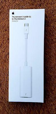 Apple Thunderbolt 3 (USB-C) to Thunderbolt 2 Adapter MMEL2AM/A *SEALED*