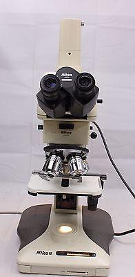 Nikon Optiphot 100 Reflected Epi Cf Plan Bd Nomarski Dic Polarizing Microscope