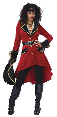 High Seas Heroine Captain Hook Adult Women Costume