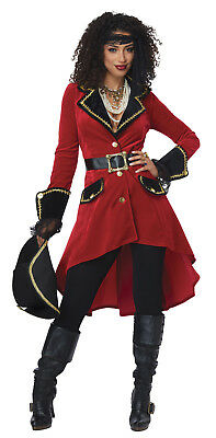 High Seas Heroine Captain Hook Adult Women Costume (Captain Hook Adult)