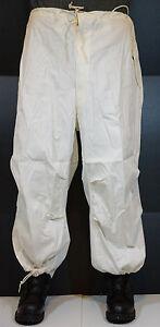 White Nylon Cover Snow Pants - Medium USGI Army Camouflage  NEW