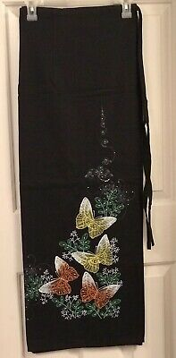 Thai Chiangmai Beaded Hand Painted Wrap Sarong Full Cotton Skirt -