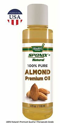Best Almond Oil - Top 100% Pure - Premium Grade USDA Organic - 4 oz by