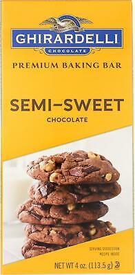Baking Bar - Semi-Sweet Chocolate (12 - 4 OZ) (Semi Sweet Baking Bar)