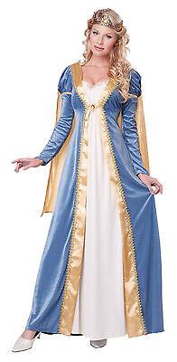 Adult Maid Marian Elegant Empress Renaissance Medieval Costume - Maid Marian Costumes