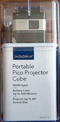 *BRAND NEW* Insignia DLP Pico Portable Projector NS-PR116 - Black