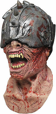 Waldhar Warrior Latex Adult Mask Great Detail Ghoulish Disguise Creepy -