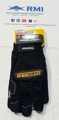 Ironclad General Utility Work Gloves Gug All-purpose Performance Fit 2xl