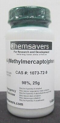 4-methylmercaptophenol 98 25g