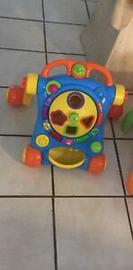 3 kids activity's one walker and two 3 in one table activity