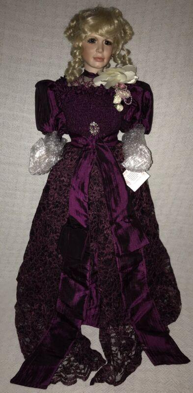 Vintage 1996 Duck House Brigitte Fail Joy Victorian Porcelain Doll LE #388/5000