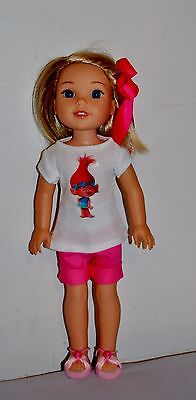 AMERICAN MADE DOLL CLOTHES FOR GIRL DOLL 14.5 INCH  WELLIE WISHERS LOT #65