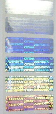 Sv515 100 Svag .5 X 1.5 Tamper Evident Warranty Void Security Stickers