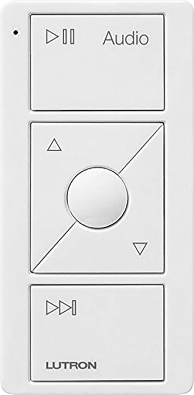 Lutron - Caseta Pico Wireless Control for Audio - White